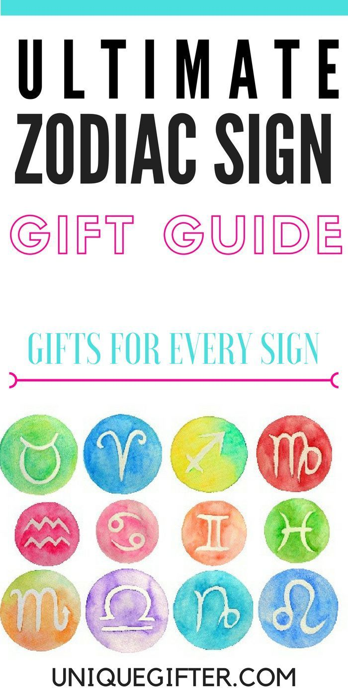 The Ultimate Zodiac Sign Gift Guide | Unique Gift Ideas for Every ...