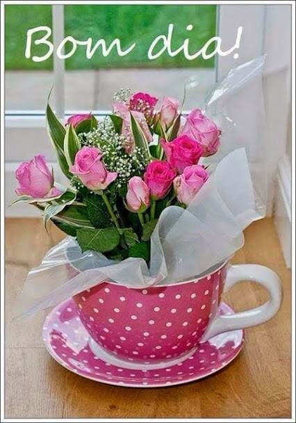 Bom Dia Presentes Artesanais Rosa Cha Primavera Flor