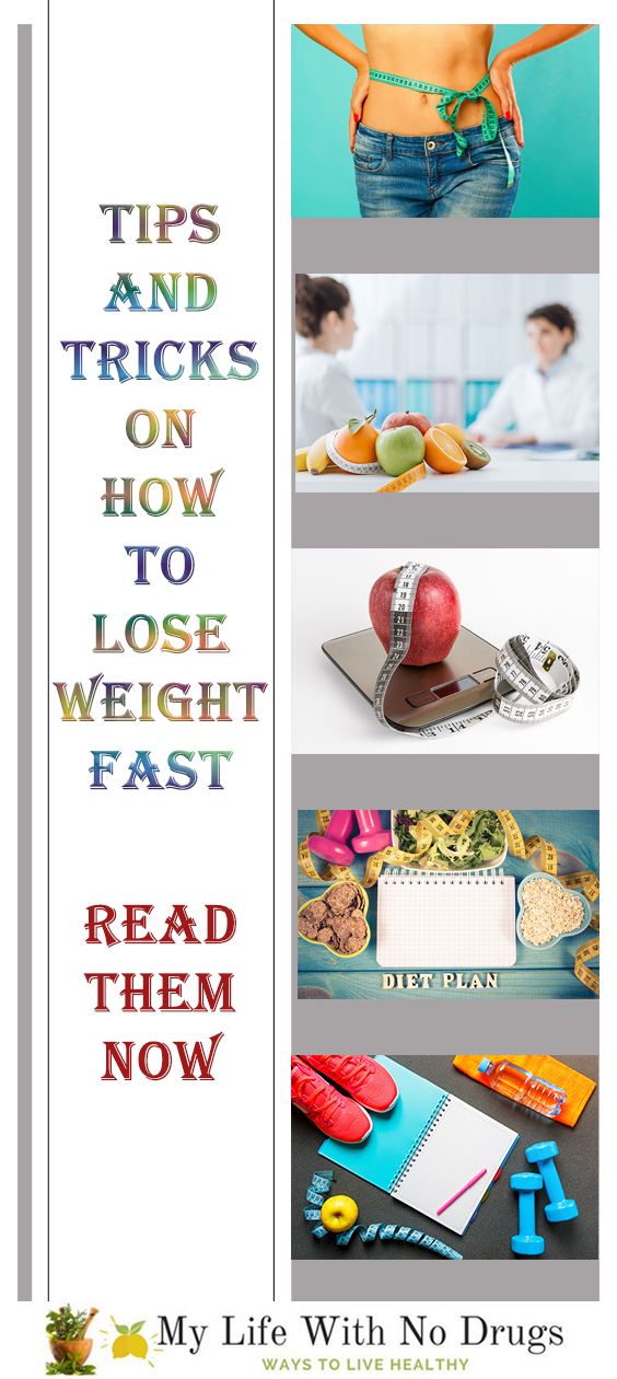 Lose Weight Fast With These Tips and Tricks - Healthy Lifestyle #DietPlan