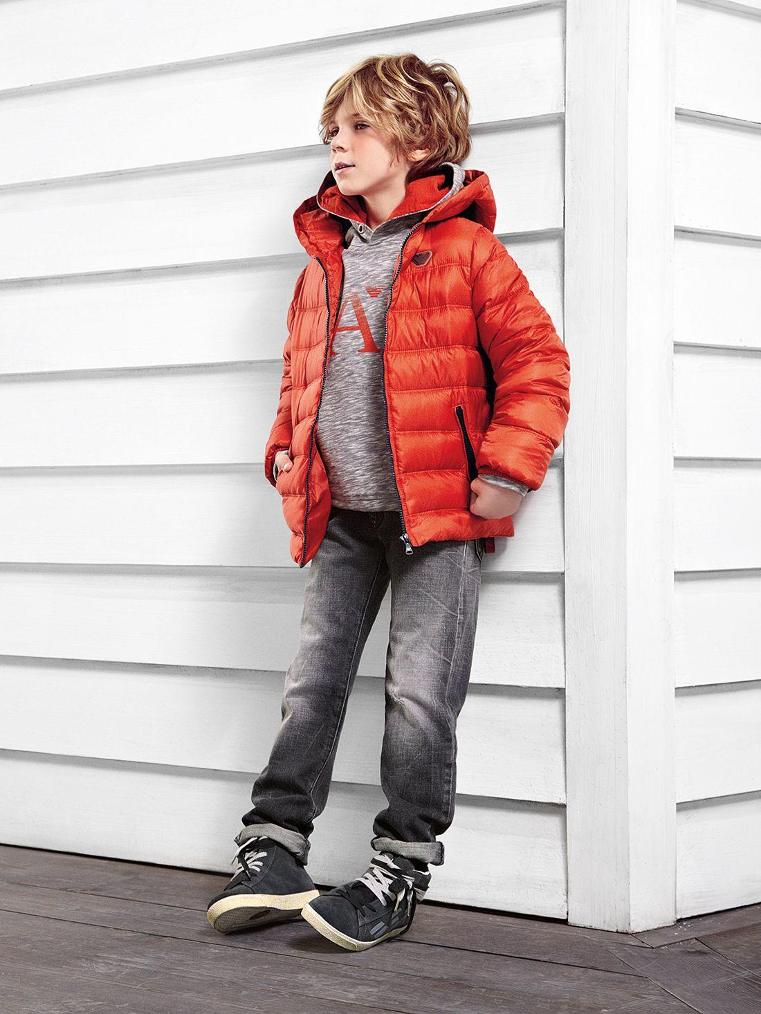 L'hiver Armani Junior | Vetement enfant, Style de garçons et Mode pour petits garçons