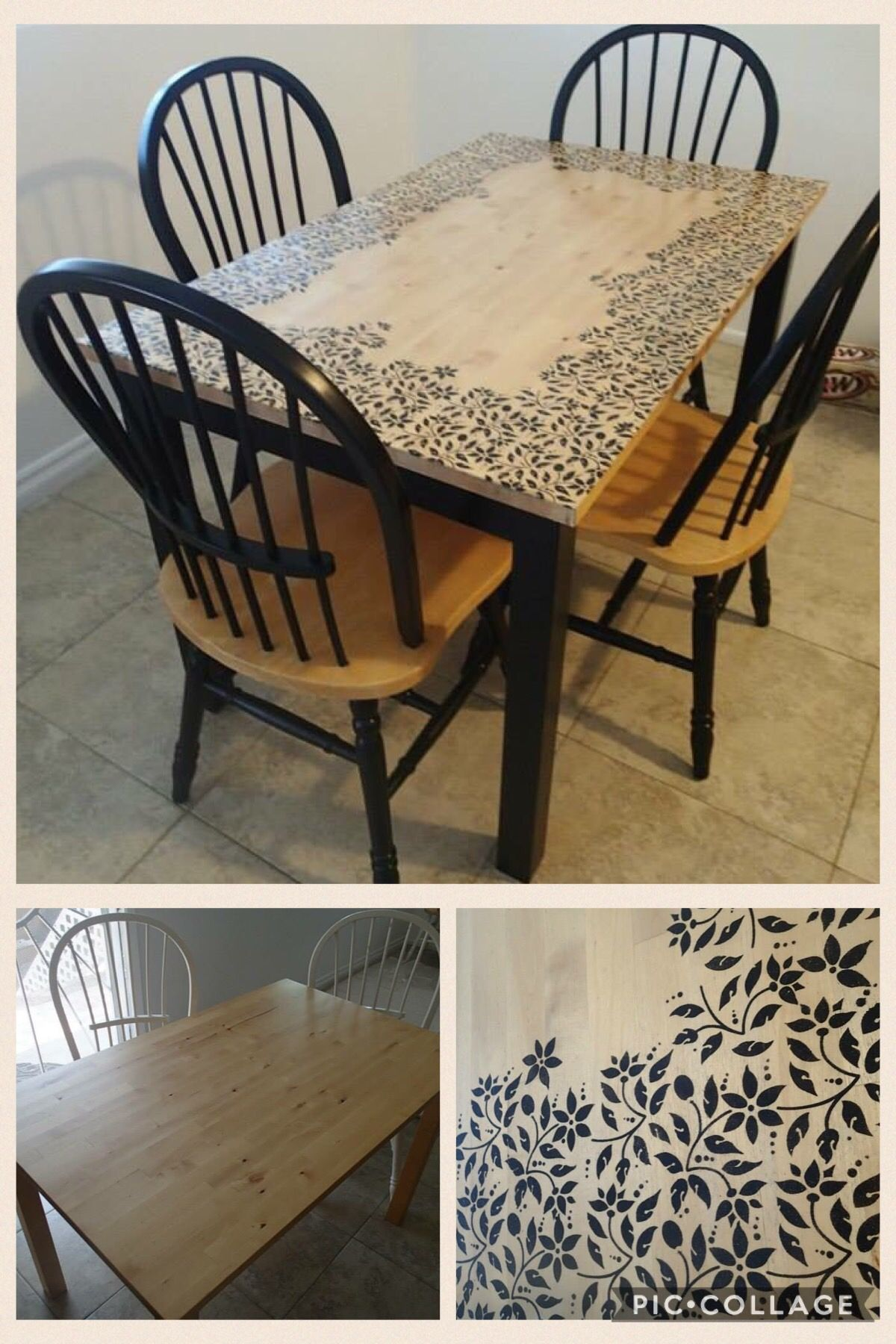 repainting of a cheap dining room table i sanded the