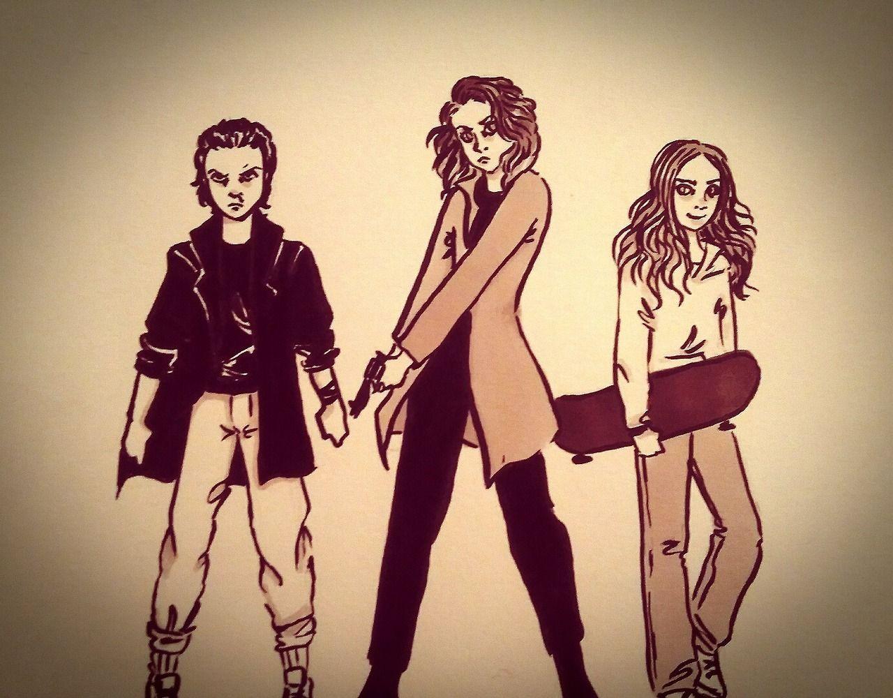 Badass girls from Hawkins | Eleven, Nancy Wheeler, Max Mayfield