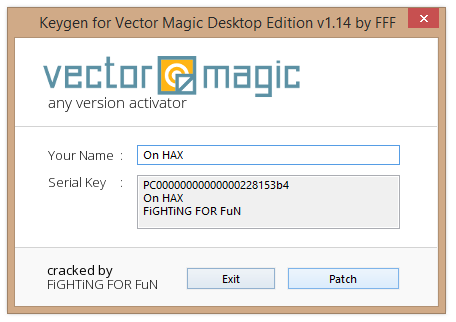 Vector Magic Desktop Edition 1 15 Crack Serial Number Free Download