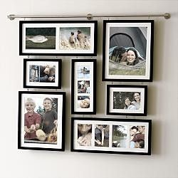 deluxe wall gallery picture frame set 98 redenvelopecom