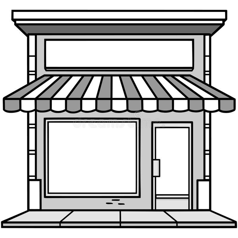 Store Front Cliparts Google Search Clipart Black And White