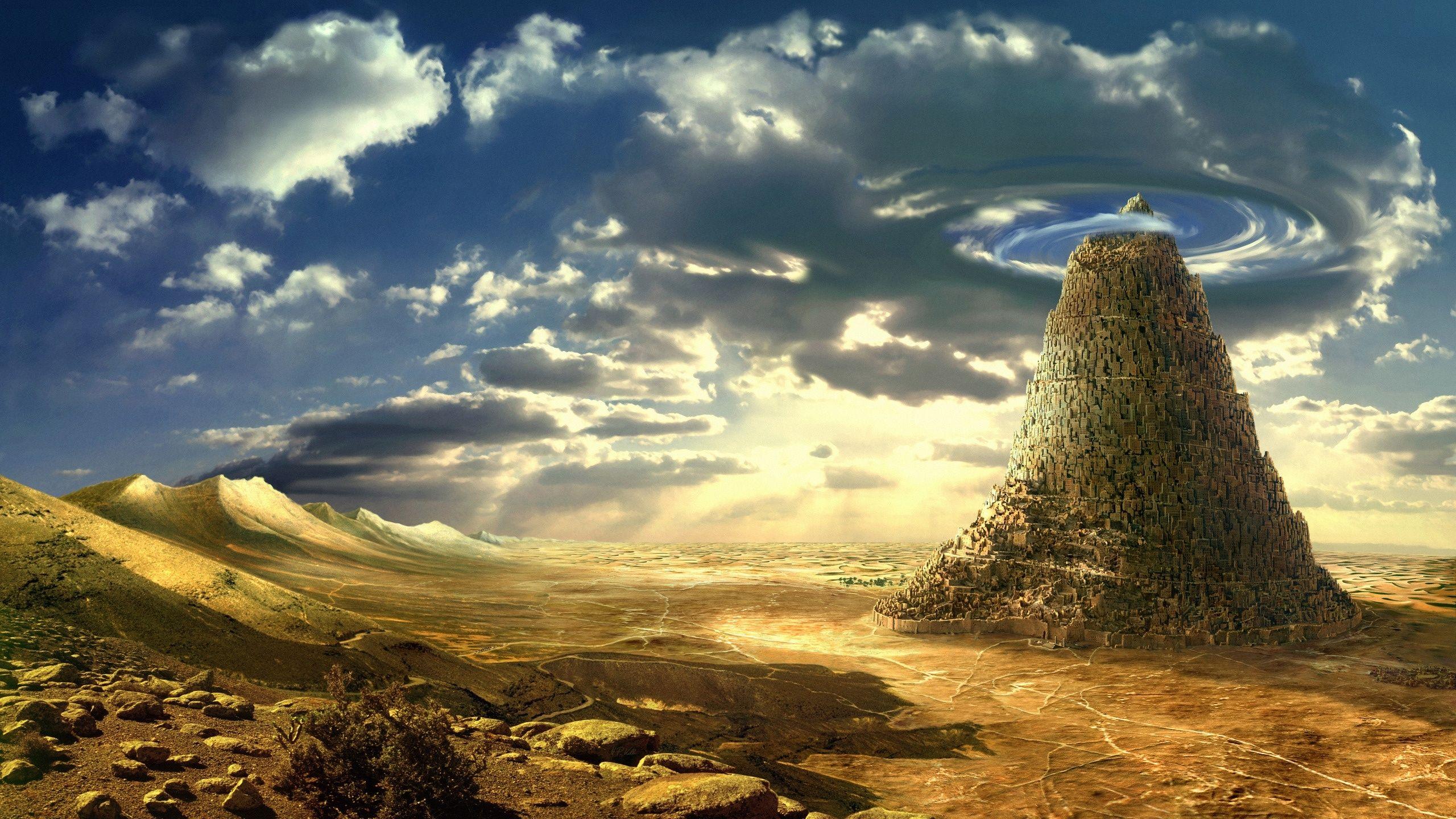 Download 2560x1440 Desert Superb Fantasy Wallpaper Beautiful Wallpaper Hd Beautiful Wallpapers Fantasy Landscape
