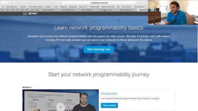 Net DevOps: Cisco Python, Automation, NETCONF, SDN, Docker   udemy