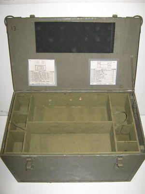 Dad Rauu0027s Trunk Still In My Garage. Large Green Army Military Storage Box  Chest Trunk