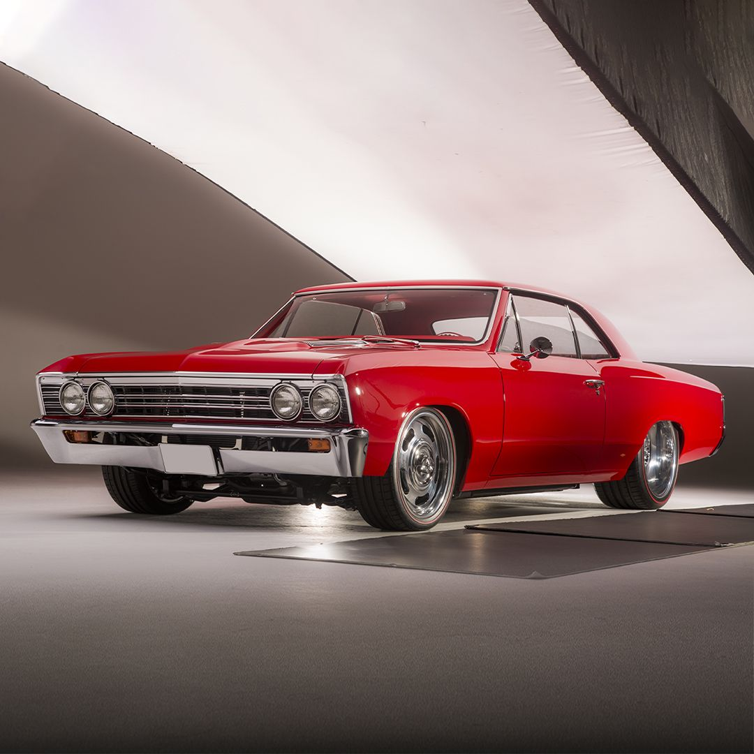 We Re Rolling Out The Red Carpet For This Red On Red Custom 1967 Chevrolet Chevelle