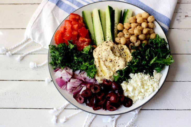Mediterranean Kale Salad Recipe