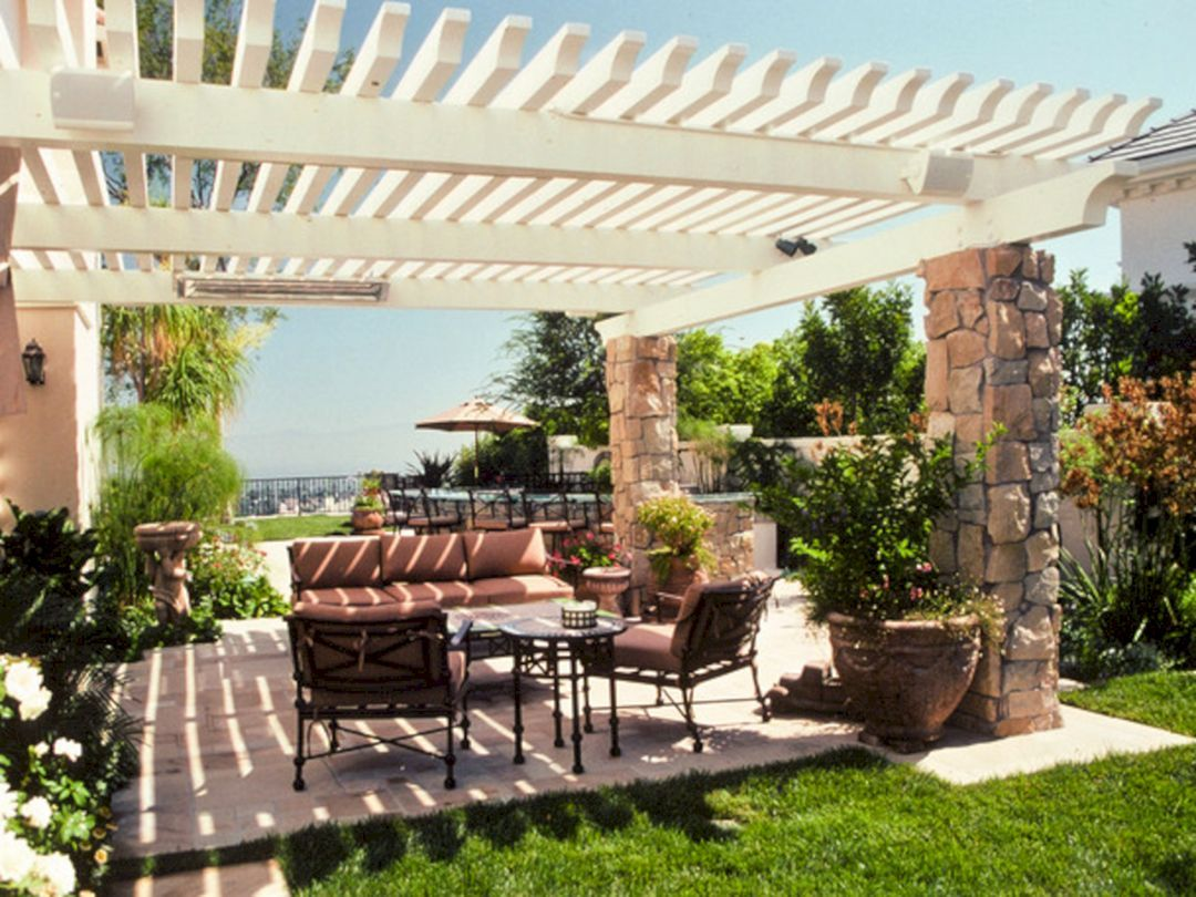 42+ Awesome Outdoor Living Design Ideas On A Budget ... on Outdoor Living Space Ideas On A Budget id=88791