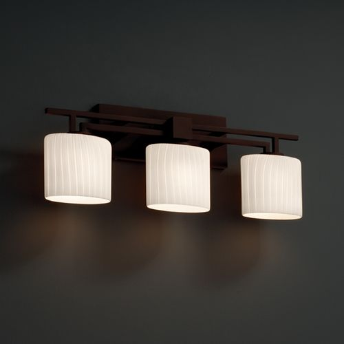 Justice Design Bathroom Lighting Justice Design Group Fusion Collection Bathroom Light  Lights