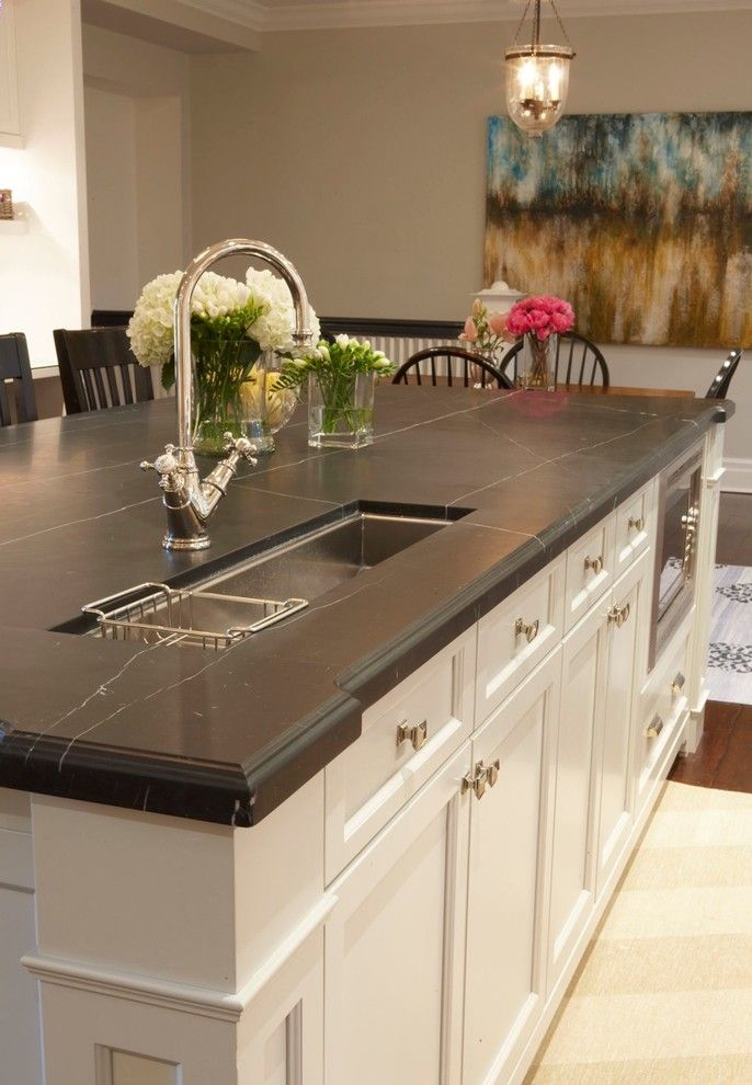 Beautiful Soapstone Kitchen Island Choices To Choose From