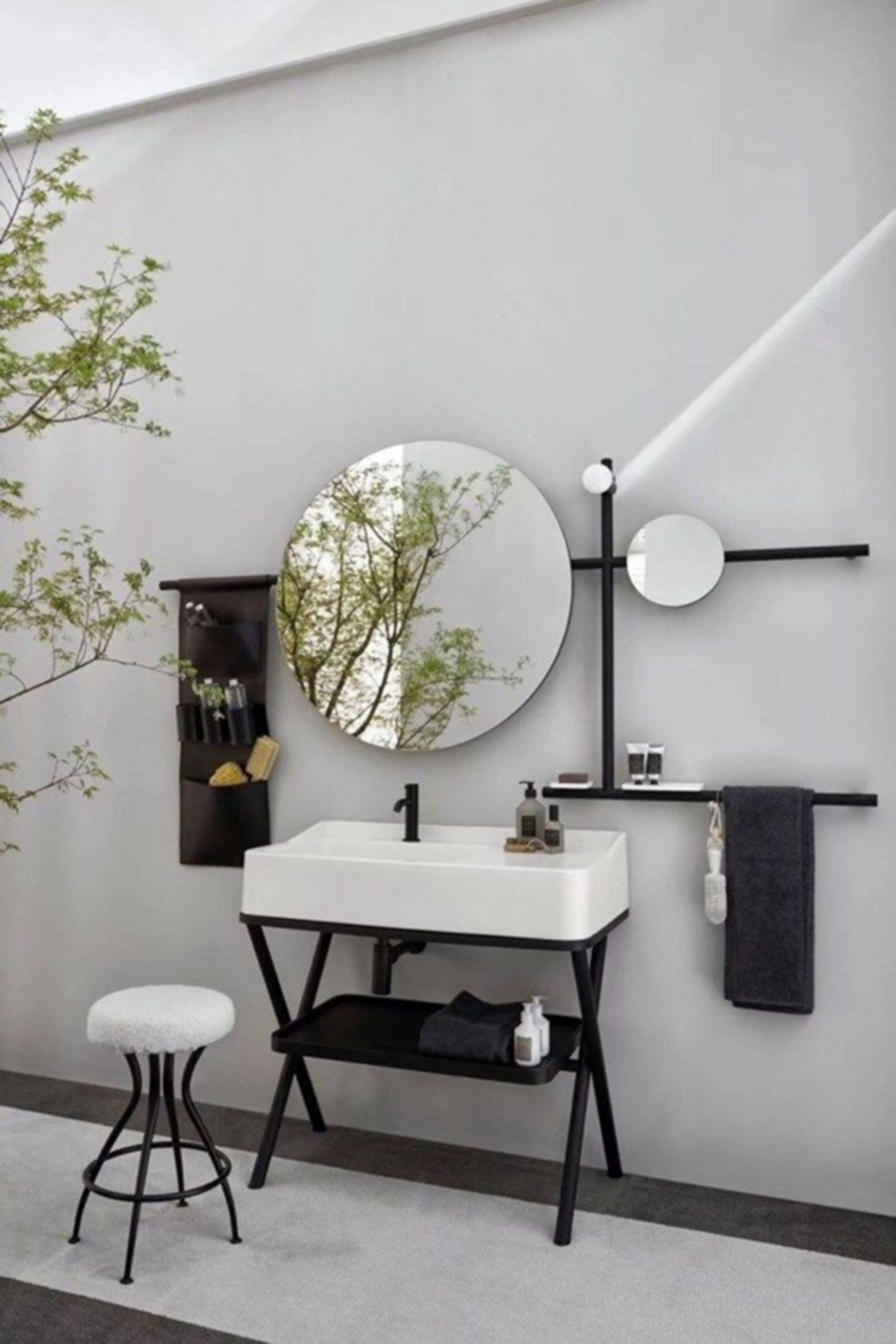 10 Awesome Industrial Bathroom Design Ideas To Make Your Bathroom Modern Industrial Bathroom Design Washbasin Design Bathroom Design