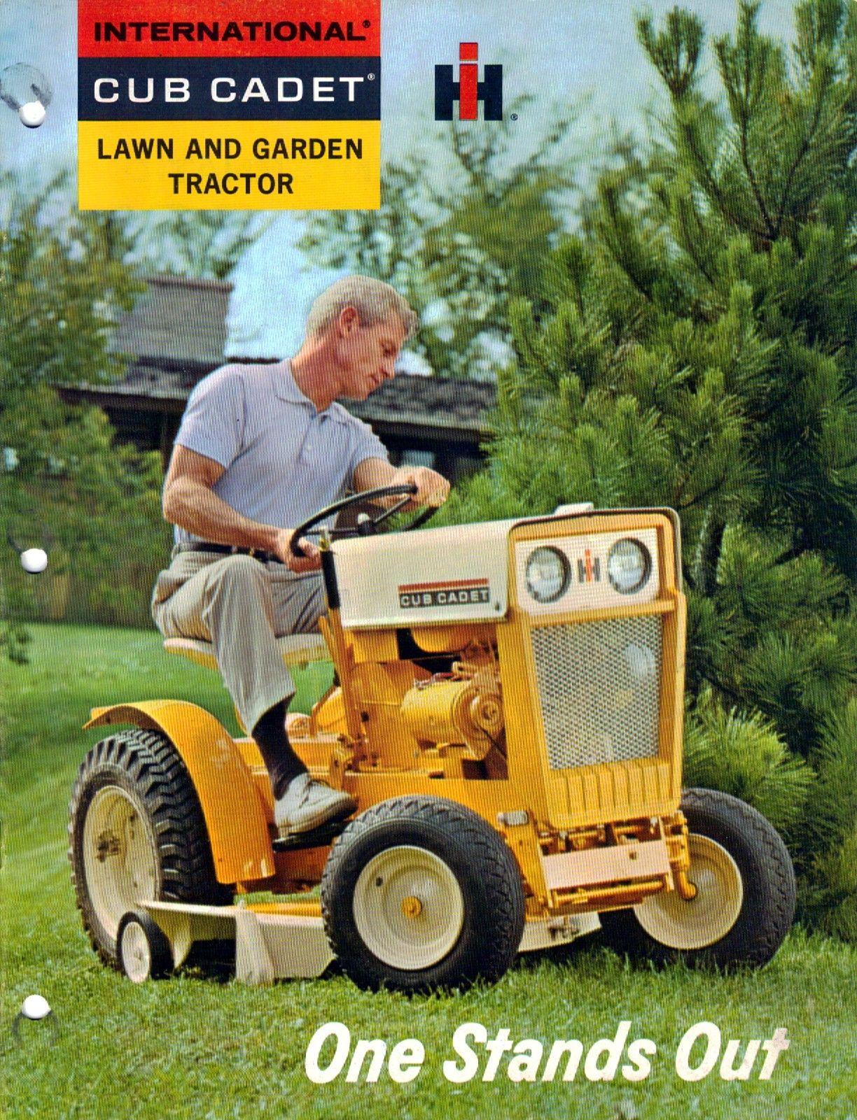 Cub Cadet 70-100 Sales Brochure | Farm Tractor Literature | Cub