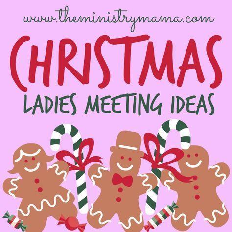 I have compiled a list of Christmas Ladies Meeting Ideas for you to be able to quickly and easily have a resource. You can make your Christmas Ladies Meeting fun and full of meaning surrounding Chr… christmasevents #christmasprogram #christmasnight #christmaspartygames #christmasbrunch #christmas2019 #christmasbiblestudy #christmasdevotions #christmasgiftstomake