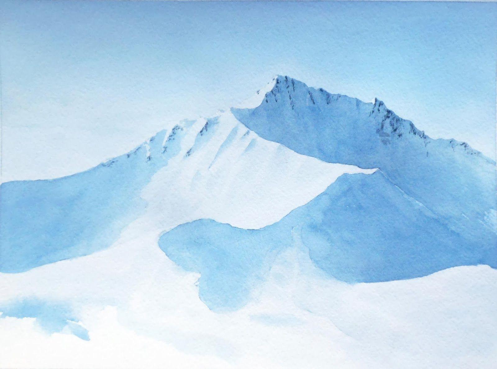 Resultat De Recherche D Images Pour Montagne Aquarelle