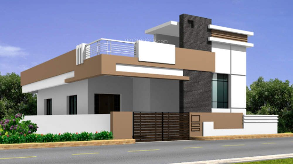 Real Property Jmj Housing In Coimbatore India Small House Elevation Design Independent House Small House Elevation