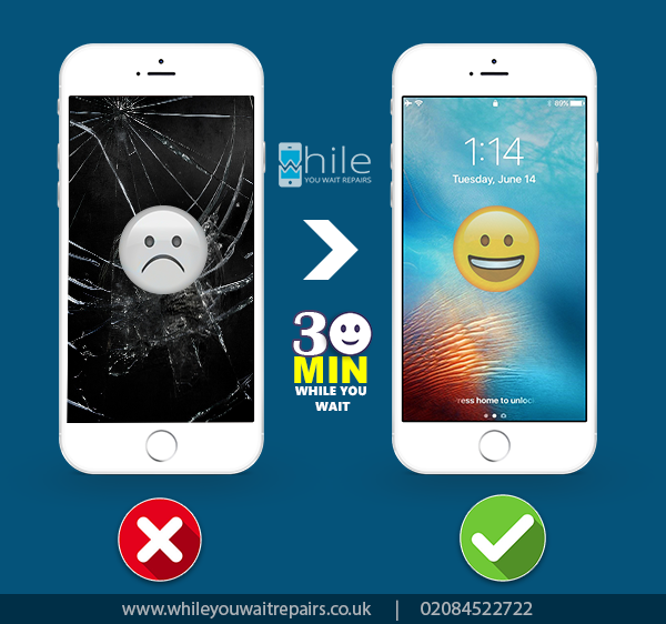 Broken Screen Problemstouch Not Working All Models Screen Repaired And Fixed Within 30 Minutes While You Wait Iphone Screen Repair Smartphone Repair Phone