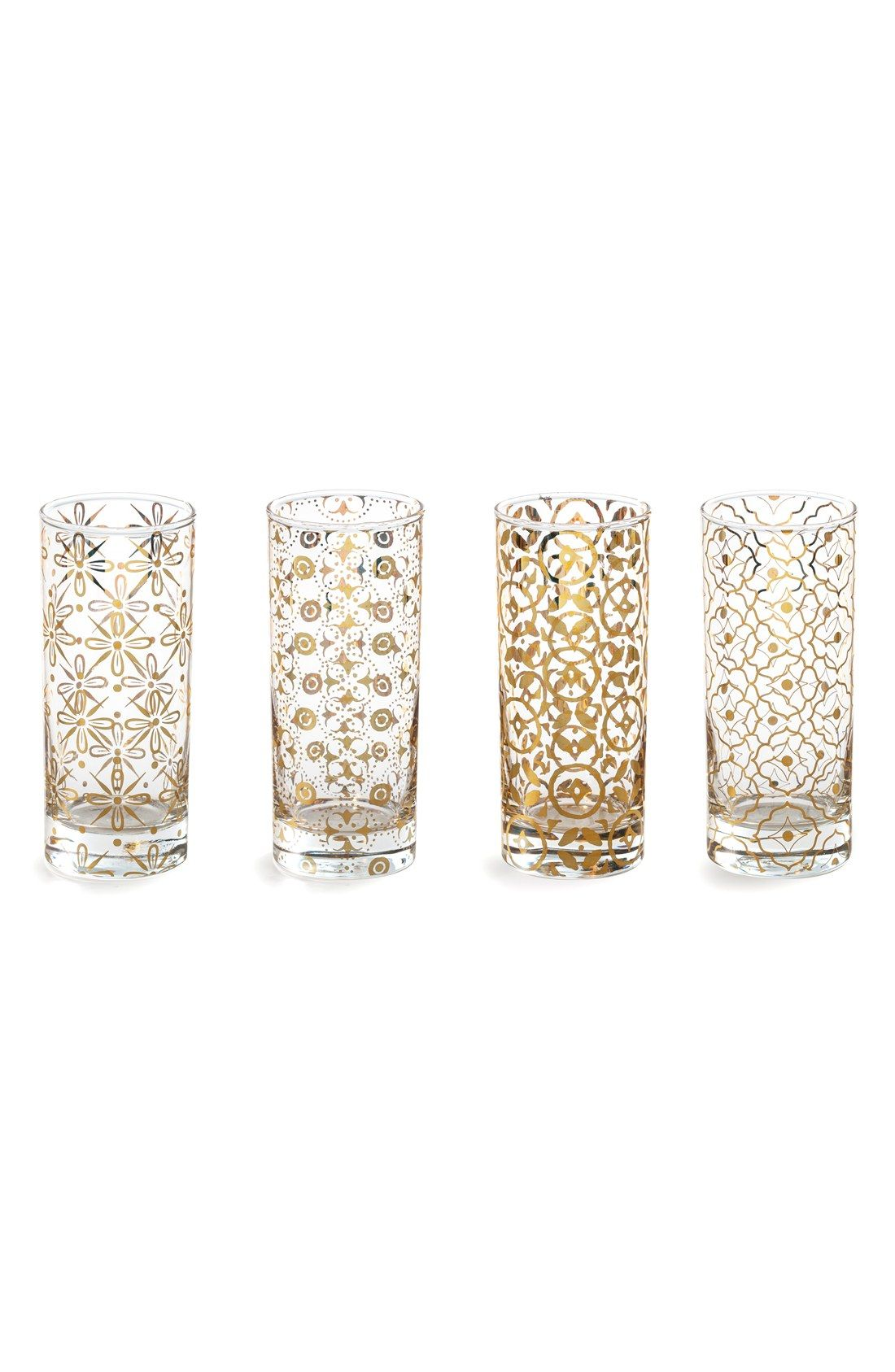 Rosanna \'Kashmir\' Highball Glasses (Set of 4) | Quirky Products ...