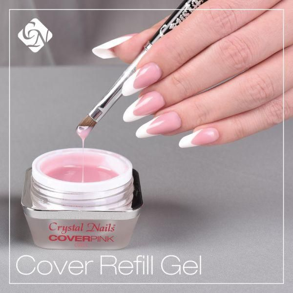 Nail Bed Extension Gel For Refillbuilder With Natural Effect And Optimal Coverage Developed Use When Refilling It Is A Slightly Covering Cover Pink