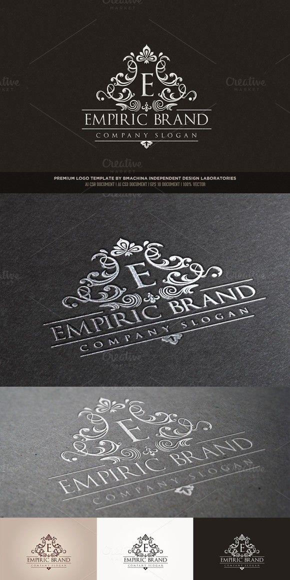 Empiric Brand Logo Logo branding, Wedding fonts, Classy
