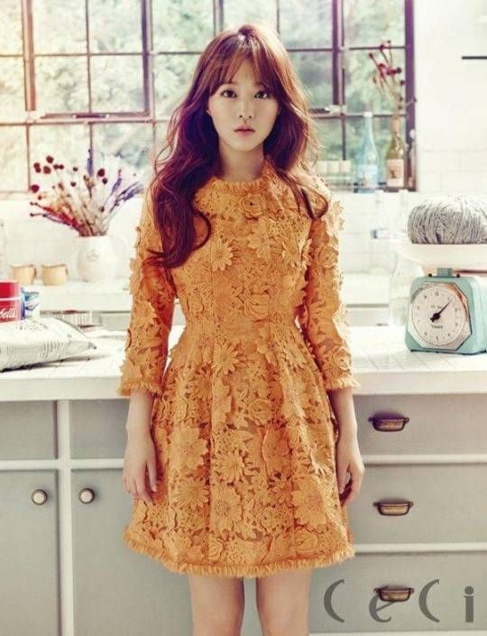 Park Bo Young is a living doll for 'Ceci' | allkpop.com