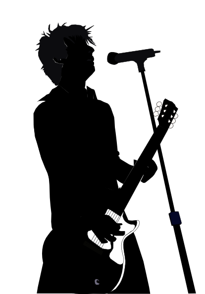 Singers Singing Clip Art Silhouettes Hear More Original Compositions And See Music Silhouette Silhouette Art Silhouette Illustration