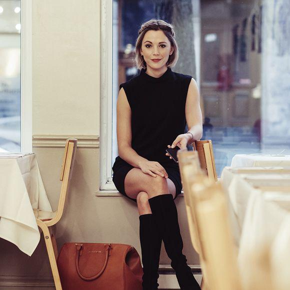 vanessa pilon la premi re ambassadrice de mode qu b coise. Black Bedroom Furniture Sets. Home Design Ideas
