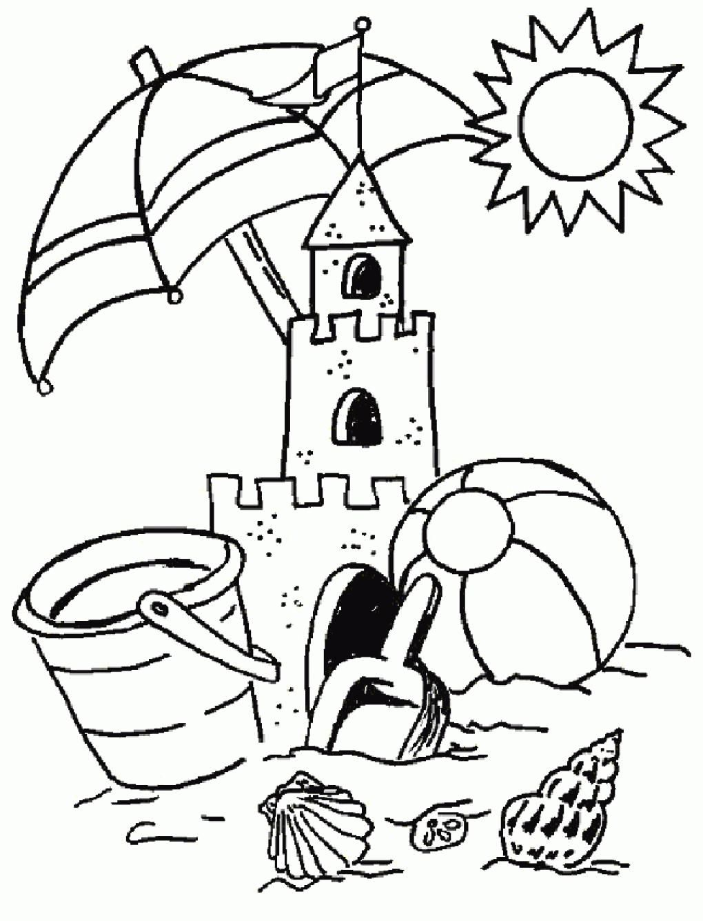 38 Free Printable Colouring Pages Summer Zomer Kleurplaten Kinderkleurplaten Kleurplaten Voor Kinderen