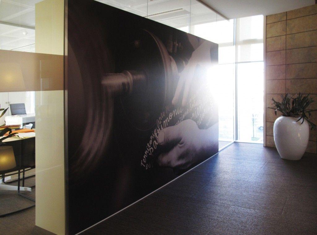 Ufficio Vetro E Legno : Bien aimé pareti divisorie design per ufficio in vetro legno
