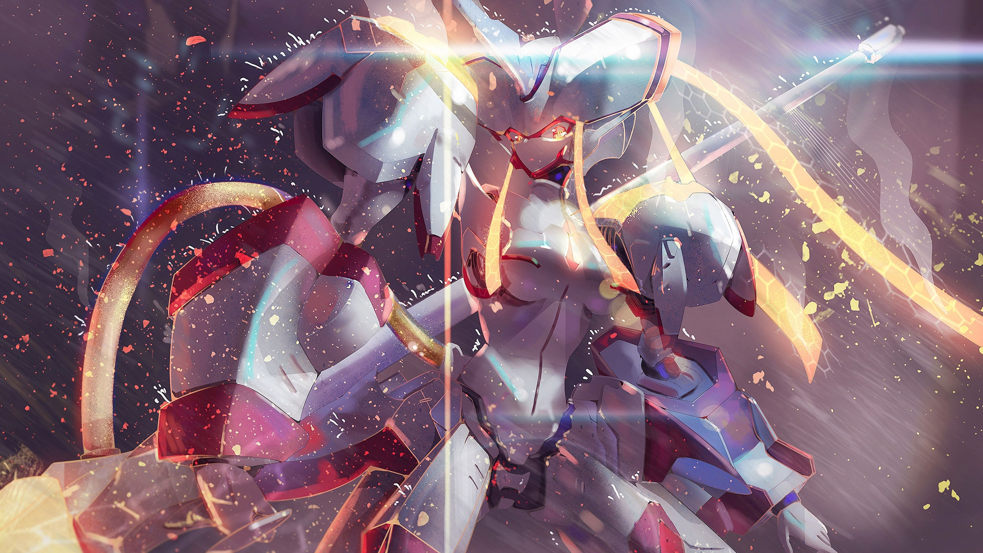 Strelizia Darling In The Franxx Anime Mecha 3840x2160