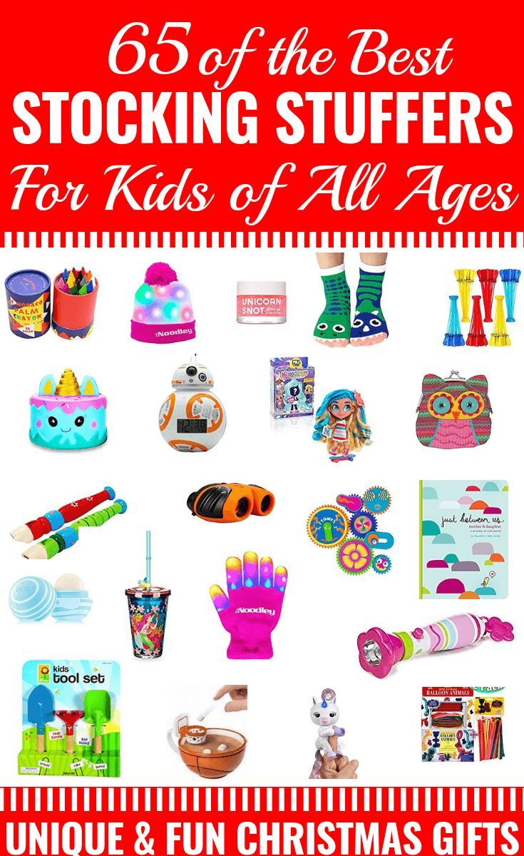 65 Stocking Stuffer Ideas For Kids Of All Ages Stocking
