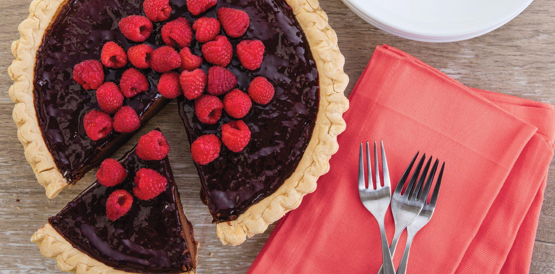 Chocolate raspberry tart sweet treats raspberry tarts