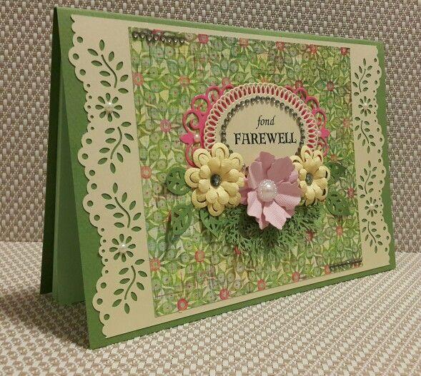 farewell cardsimply inspiring designs  cards handmade