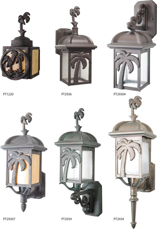 Melissa Lighting Tropical Palm Tree Series From The British Colonial Outdoor Collection British Colonial Palm