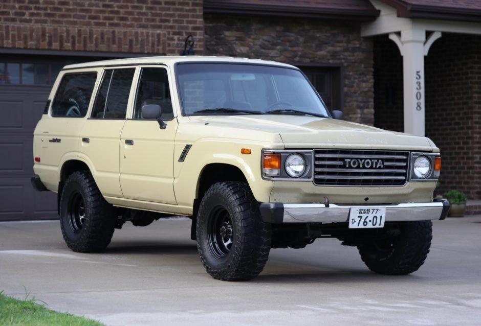 1983 Toyota Land Cruiser Fj60 Land Cruiser Toyota Land Cruiser Toyota