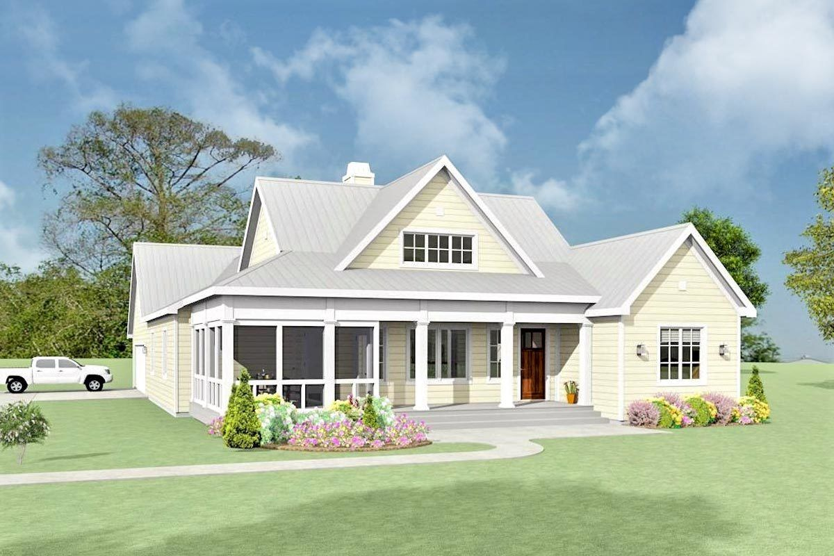 Plan 28931jj 3 Bed Farmhouse With Bonus Room And Attached 2 Car Garage Ranch House Plans New House Plans House Plans Farmhouse