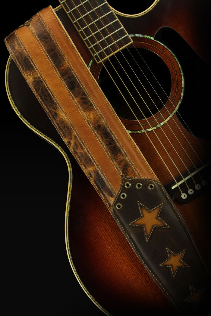 Rustic Gold Guitar Strap Https Www Ethoscustombrands Com Collections Flag Series Products Rustic Go Leather Guitar Straps Guitar Strap Acoustic Guitar Strap