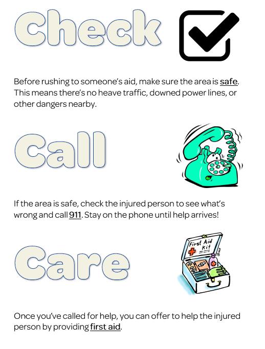 Free printable first aid worksheets