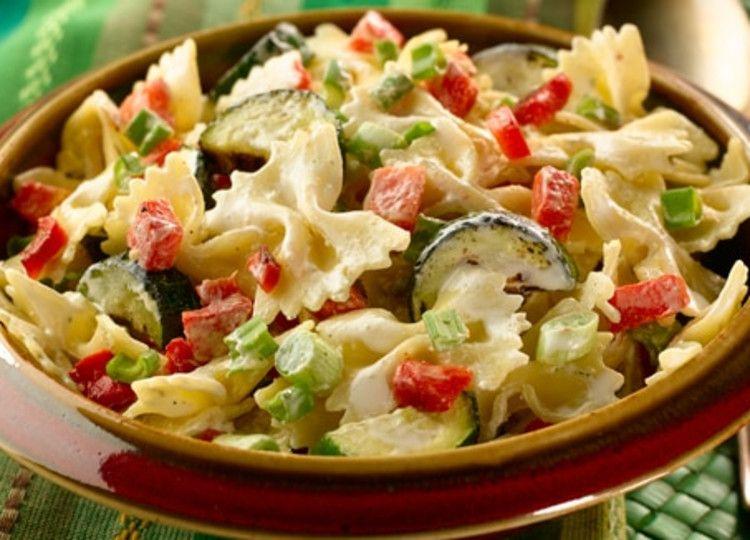 Creamy Chicken Alfredo Knorr Us Recipe Roasted Vegetable Pasta Vegetable Pasta Salads Vegetable Pasta