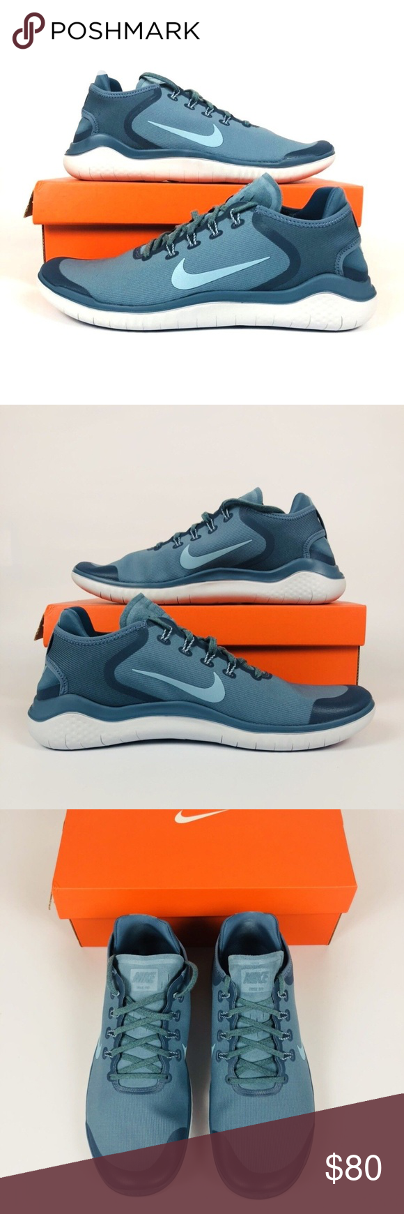 dedf7a7360349 Nike Free RN 2018 Nike Free RN 2018 SUN Running Shoes Blue AH5207 400 NEW  New With Box Shipped Double Boxed Nike Shoes Sneakers
