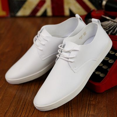 f01ecd662 I love white shoes!!! | Men's shoes in 2019 | White casual shoes ...