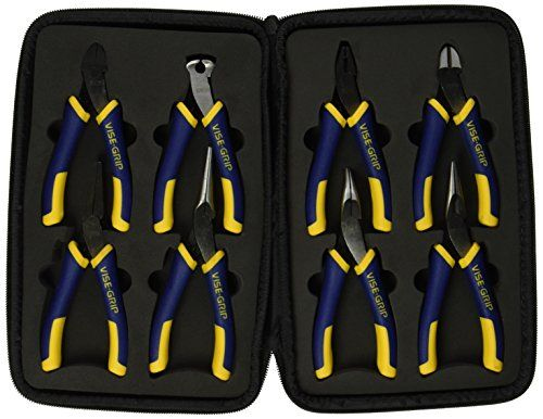 Vise Grip 2078712 8 Piece Groovelock//propliers Kit Bag Set