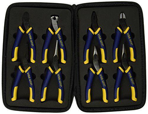 Vise Grip 2078712 8 Piece Groovelock//propliers Kit Bag Set