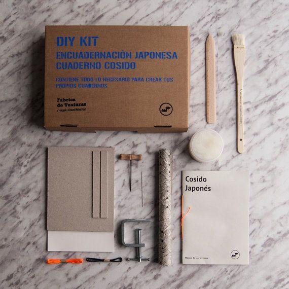 Kit Encuadernación: Cosido japonés por TexturesFactory en Etsy