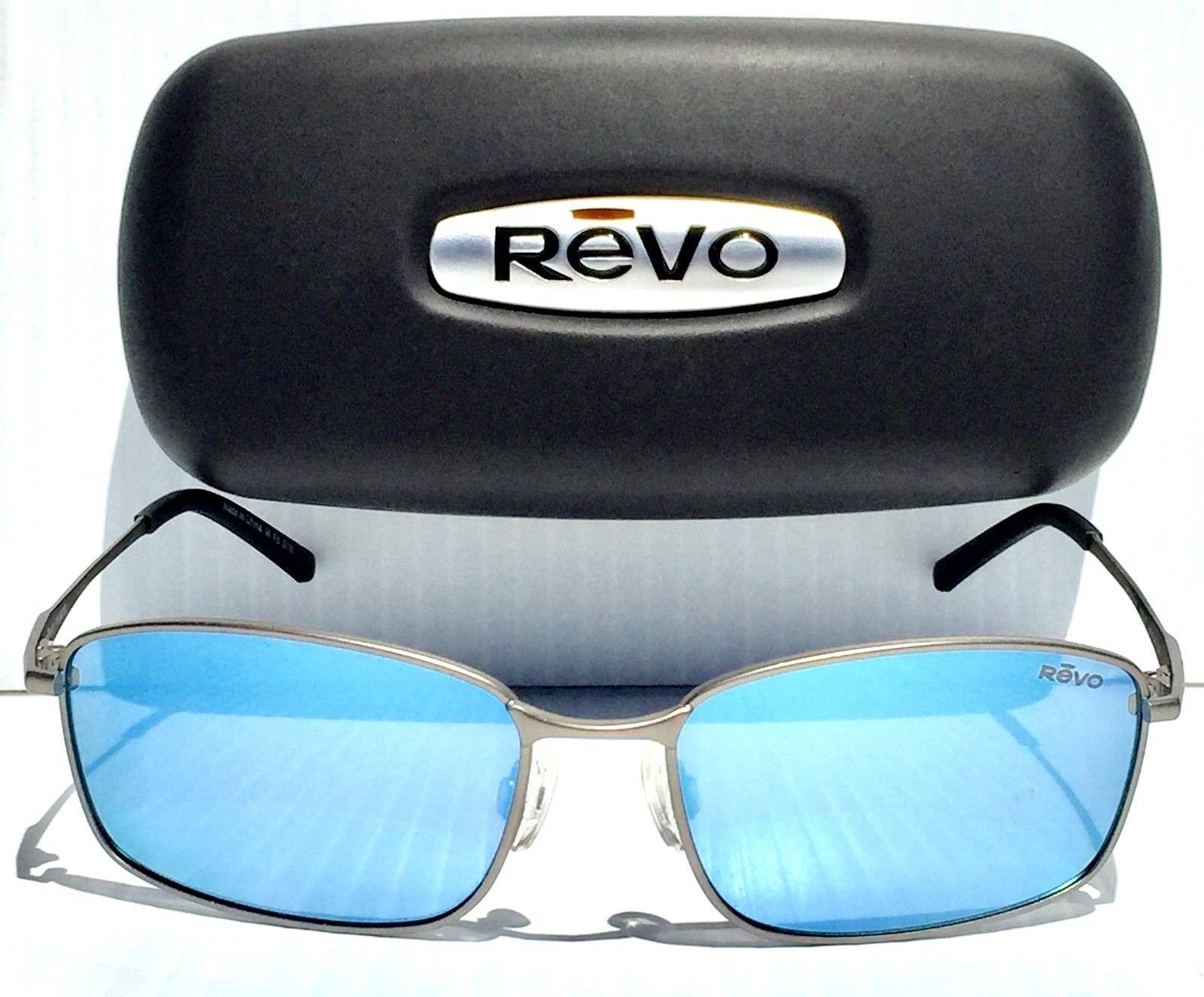 a10e293610596 NEW REVO SCOUT LEAD Satin Wire w POLARIZED Blue water Lens Sunglass RE 5004  BL (eBay Link)