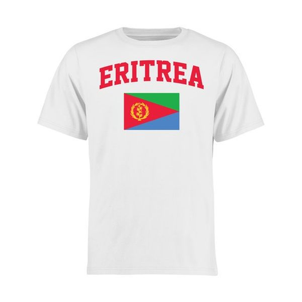 Eritrea Youth Flag T Shirt White 17 99 Flag Tshirt Eritrea