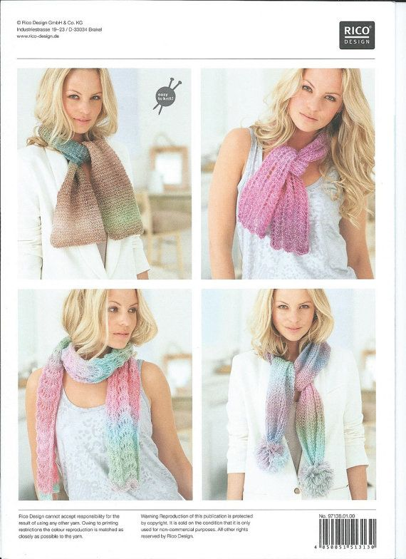 Rico Knitting Pattern 138 Knitting Idea By Handmadelcreations My