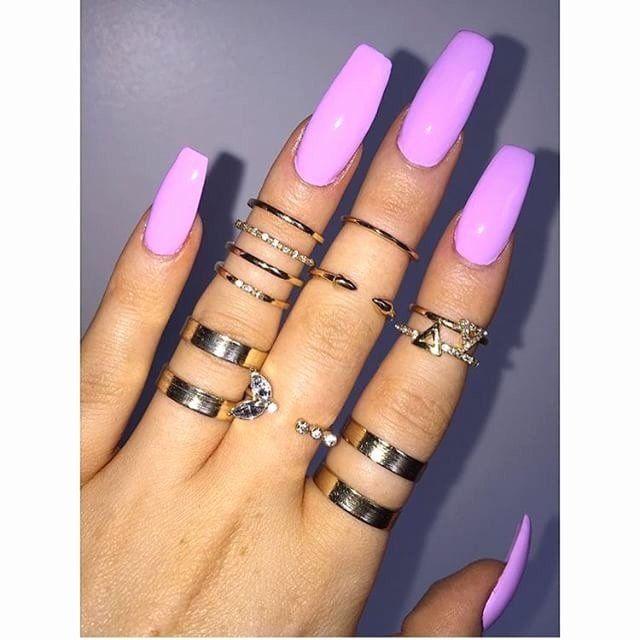 Nail Art Salons Near Me in 2020 | Simple nails, Long nails ...